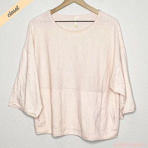 [Pure Jill] Pink Oversized Lightweight Sweater Top